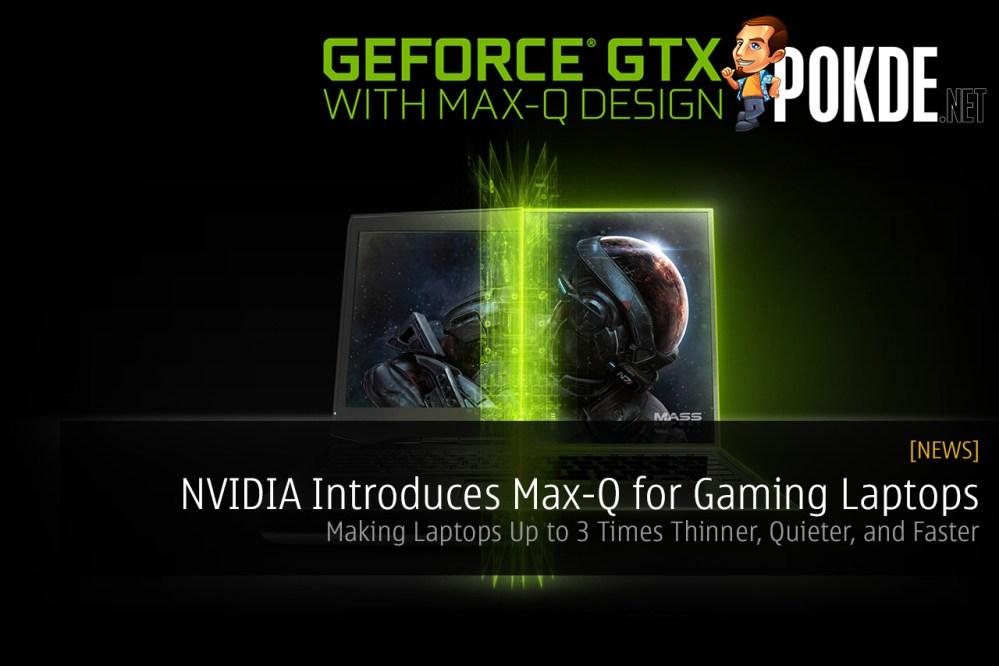 NVIDIA Max-Q Design Concept