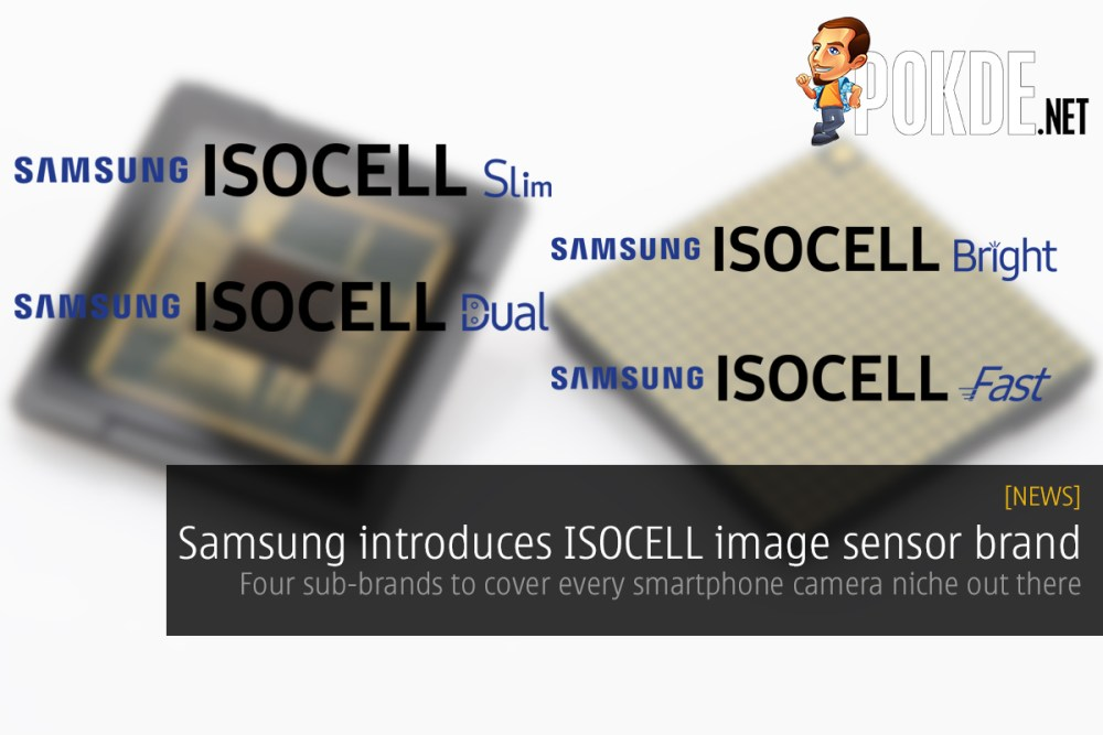Samsung introduces ISOCELL image sensor brand