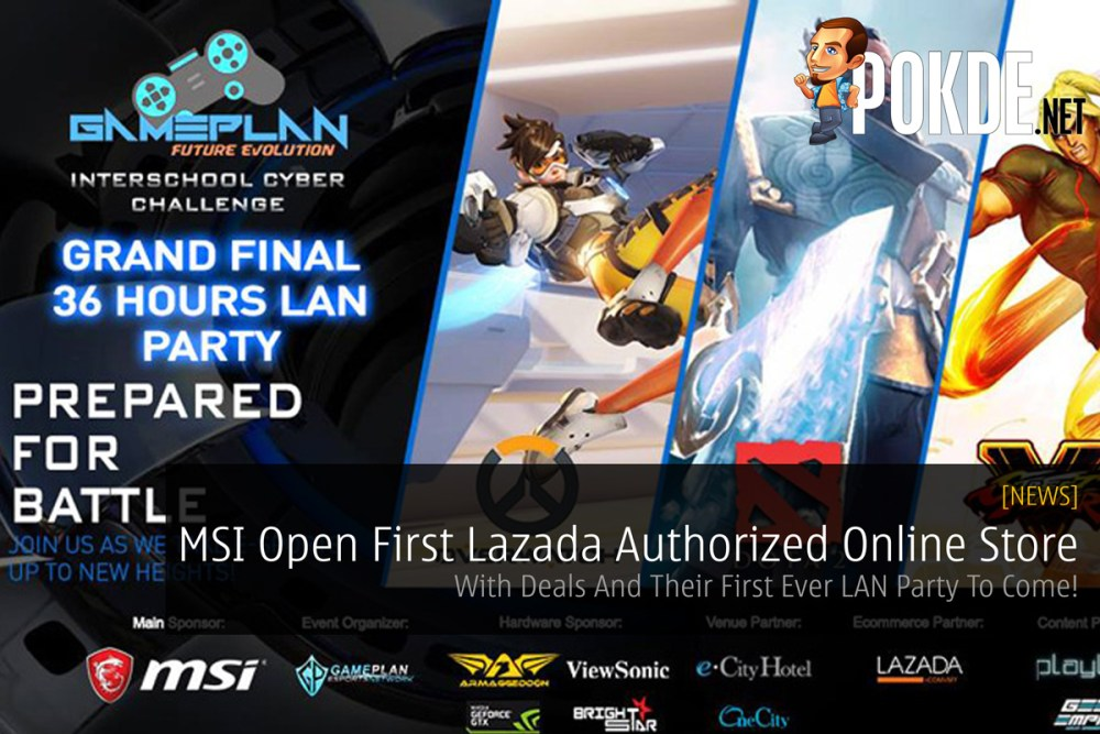 MSI Open First Lazada Authorized Online Store - With Deals