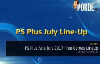 PS Plus Asia July 2017