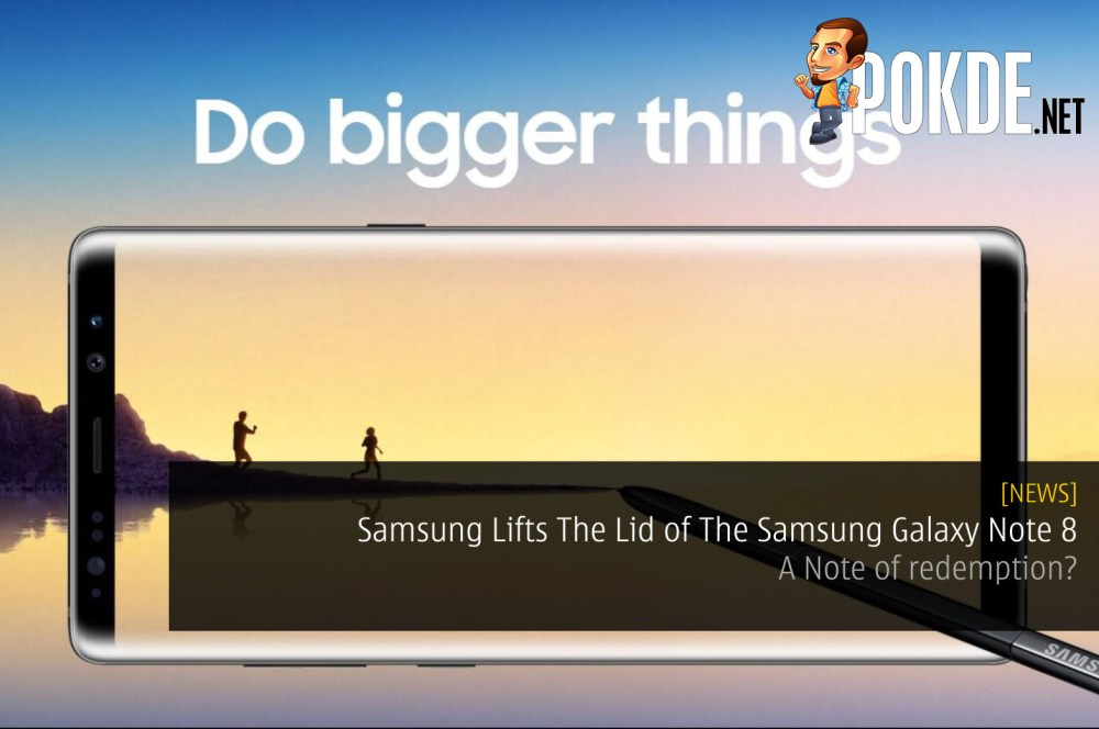 Samsung Lifts The Lid off The Samsung Galaxy Note 8 - A Note of redemption? 21