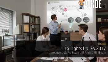New LG CineBeam Laser 4K Projector Set For CES 2019