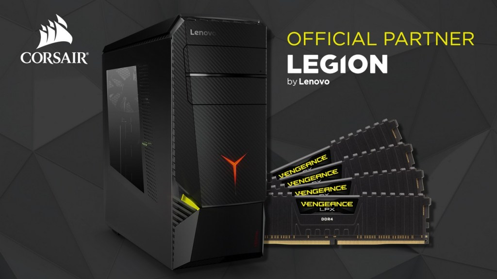 Lenovo Legion Corsair Vengeance DDR4 RAM Gamescom 2017