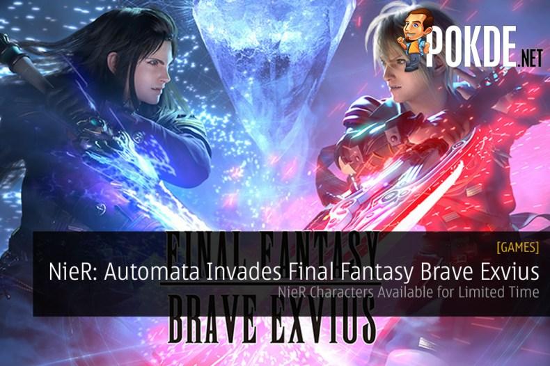 final fantasy brave exvius nier automata ios android