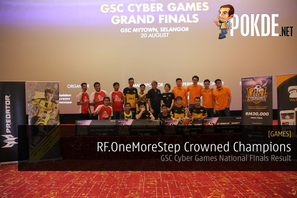 GSC Cyber Games National Finals
