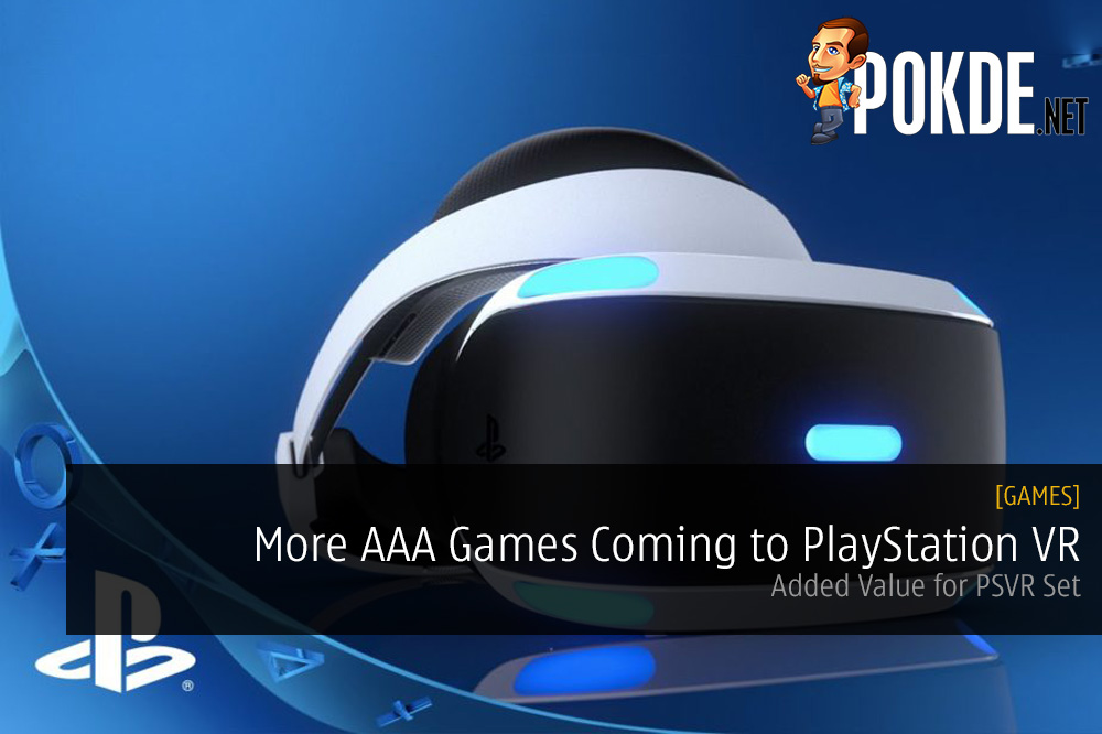 More AAA Games Coming to PlayStation VR