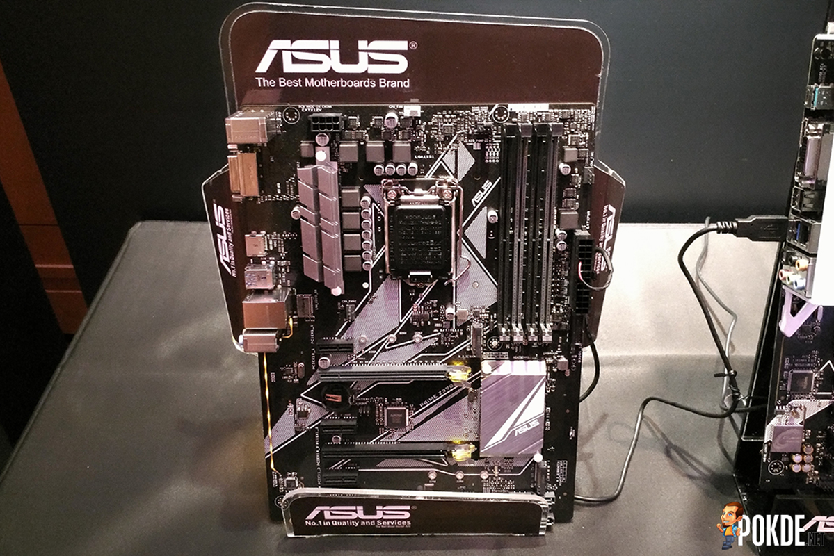 ASUS showcases latest ROG Z370 motherboards