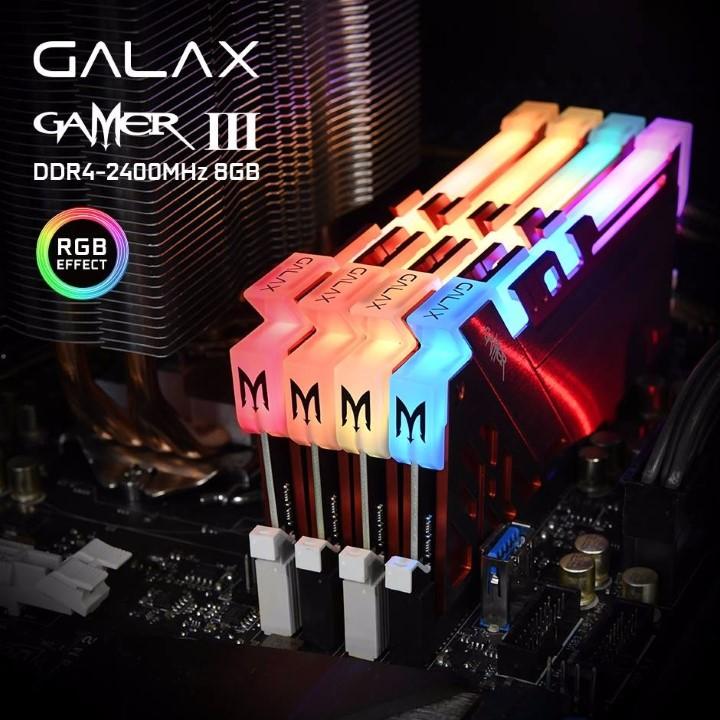 galax gamer iii rgb memory