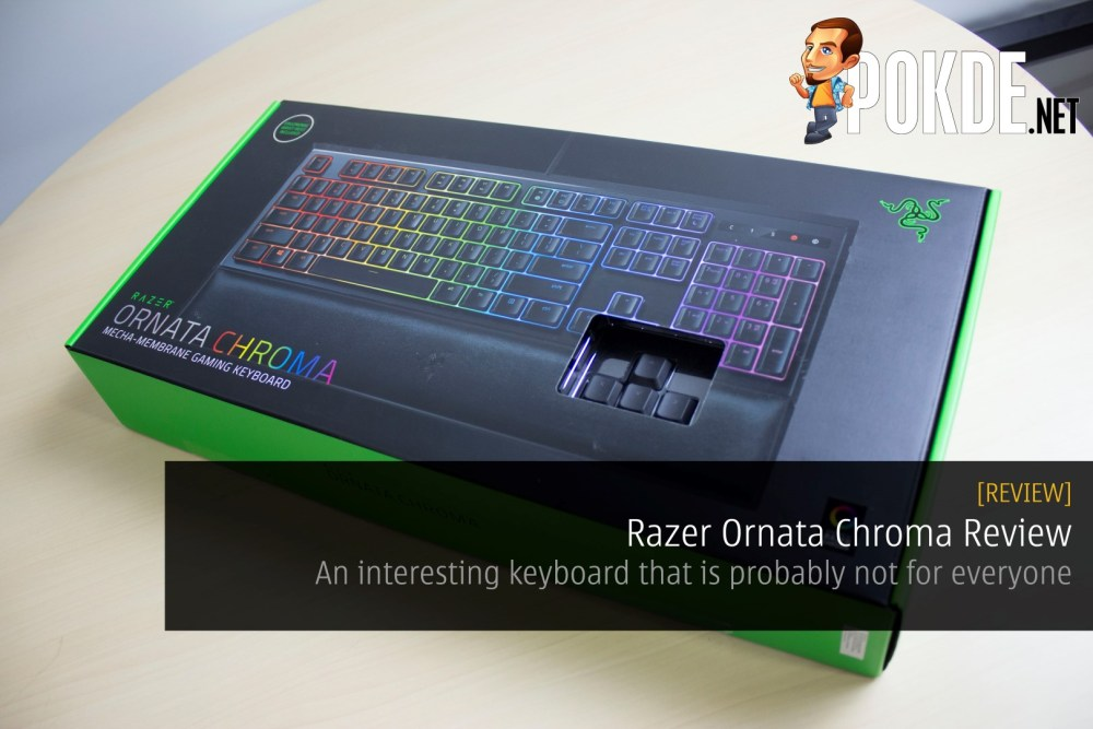 Razer Ornata Chroma Review - An interesting hybrid keyboard
