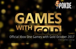 Official Xbox One Games with Gold October 2017