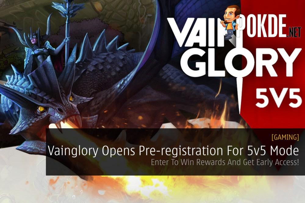 Vainglory Opens Pre-registration For 5v5 Mode - Enter To Win