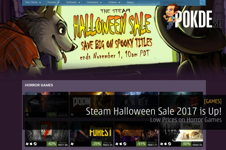 Steam Halloween Sale 2017 is Up! Low Prices on Horror Games – Pokde