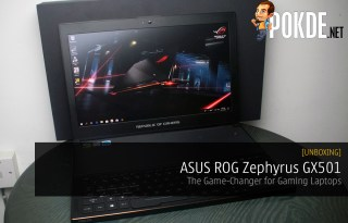 Unboxing the ASUS ROG Zephyrus GX501