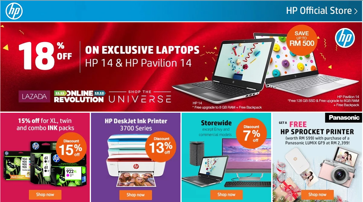 Lazada 1212 Online Revolution Sales Is Tomorrow Get Amazing Deals Laptop Hp Up To 62 Off Selected Products