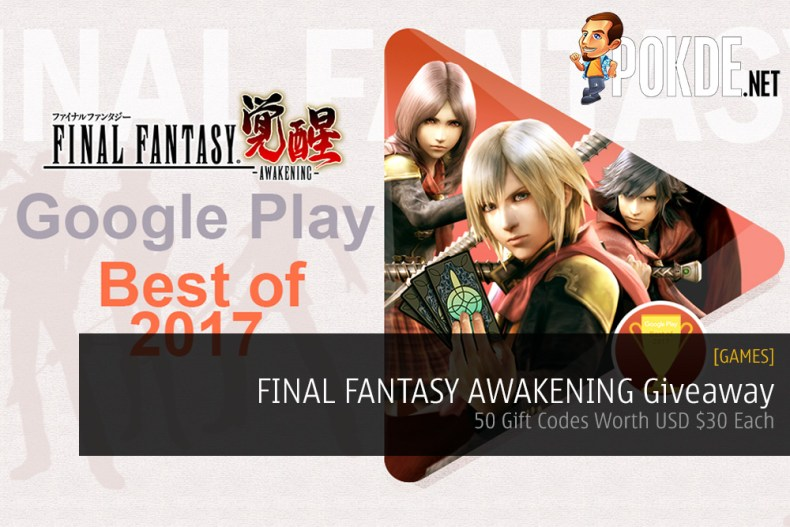 FINAL FANTASY AWAKENING Giveaway