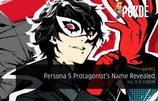 Persona 5 Protagonist's Name Revealed
