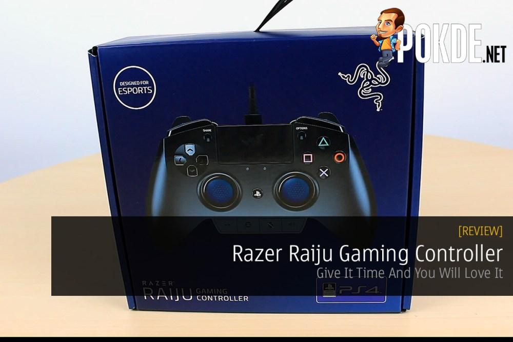 Razer Raiju Gaming Controller Review PS4 PC