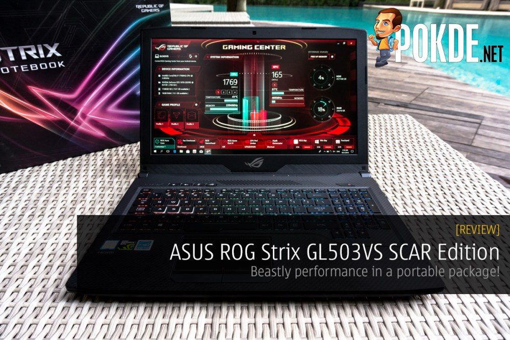 ASUS ROG Strix GL503VS SCAR Edition review
