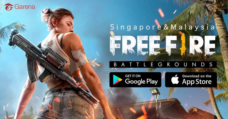 Garena Announces Free Fire Battlegrounds
