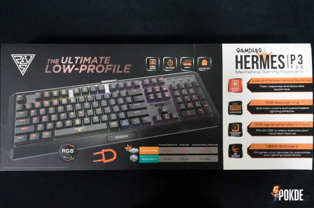 Gamdias Hermes P3 RGB mechanical gaming keyboard review; the fastest mechanical keyboard on the market? 23