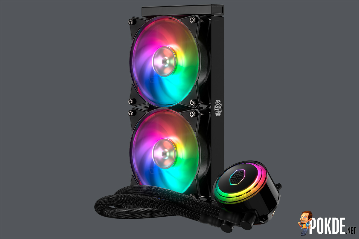 CES2018] RGB cooling is the name of the game for Cooler Master