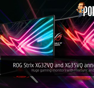 ROG Strix XG32VQ and XG35VQ announced; huge gaming monitors with FreeSync and Aura Sync! 25