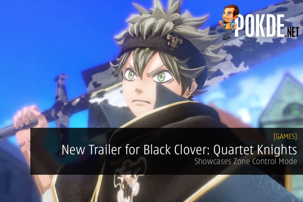 New Trailer for Black Clover: Quartet Knights Released