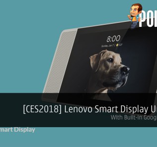 [CES2018] Lenovo Smart Display Unveiled
