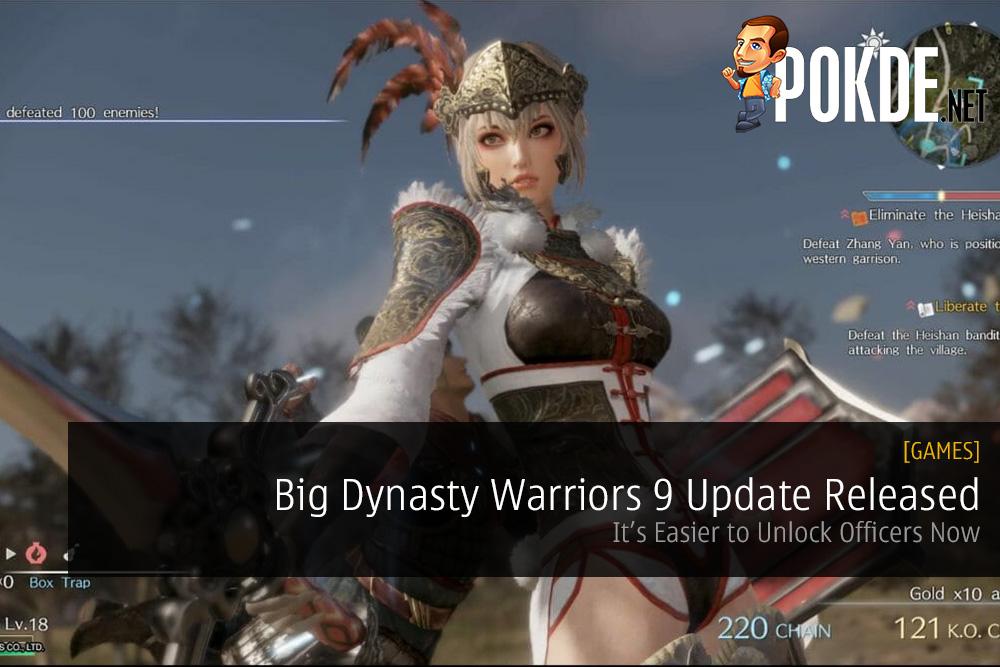 Big Dynasty Warriors 9 Update Released