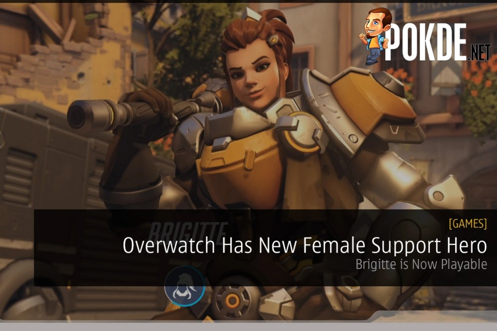 Overwatch Has New Female Support Hero - Brigitte Is Playable Right