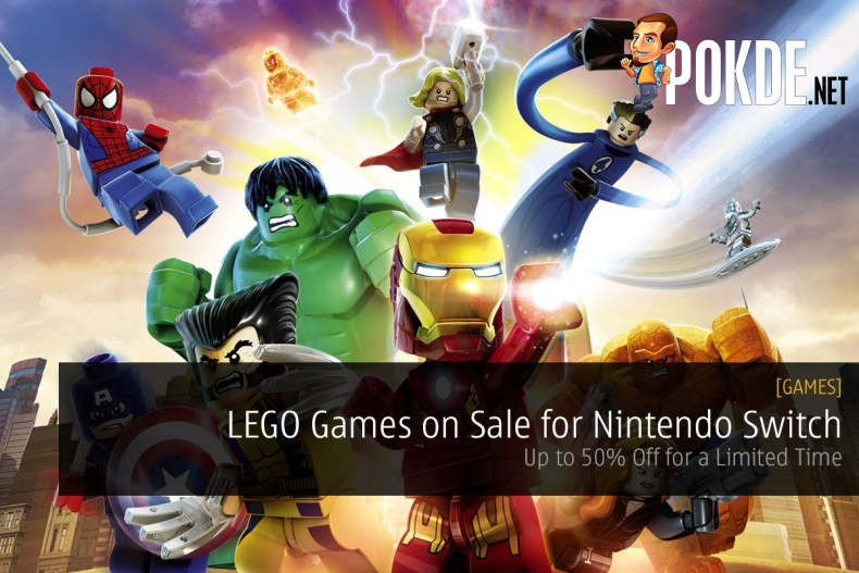 LEGO Games on Sale for Nintendo Switch - Up to 50% Off for Limited ...