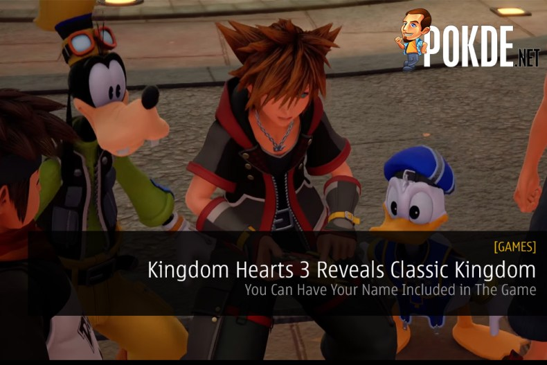 Kingdom Hearts 3 Reveals Classic Kingdom