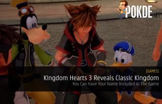 Kingdom Hearts 3 Reveals Classic Kingdom