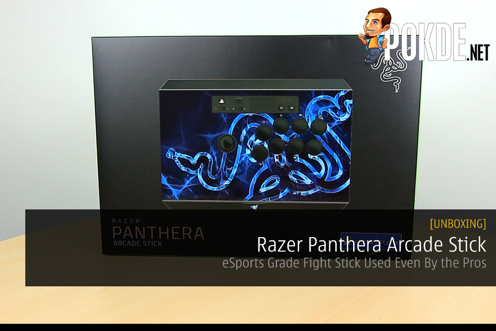 Unboxing the Razer Panthera Arcade Stick