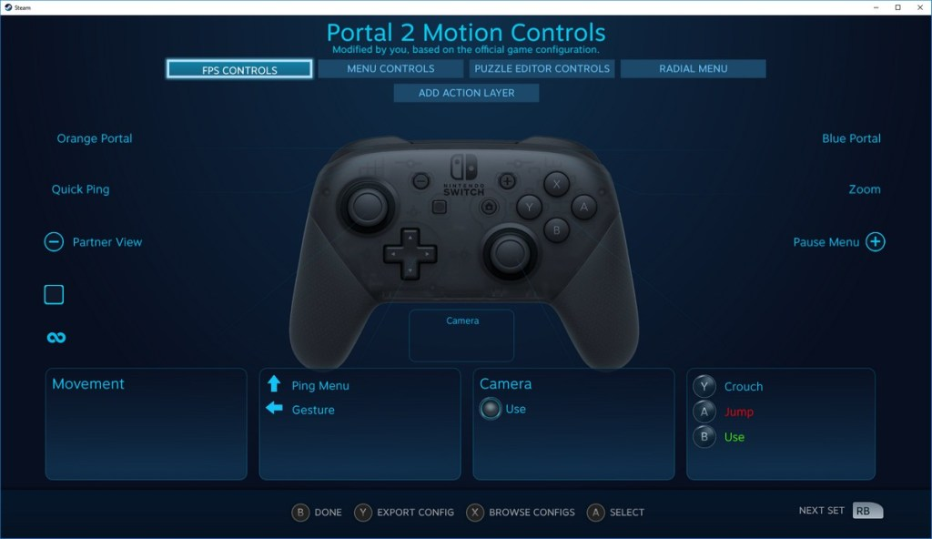 Nintendo Switch Pro Controller Steam Native Support