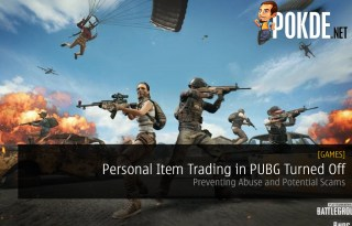 Personal Item Trading in PUBG Turned Off