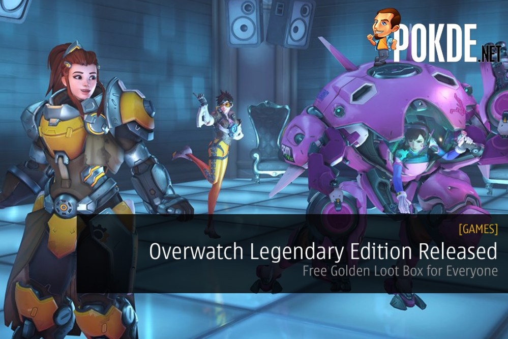 Overwatch Legendary Edition Released - Free Golden Loot Box For Everyone!