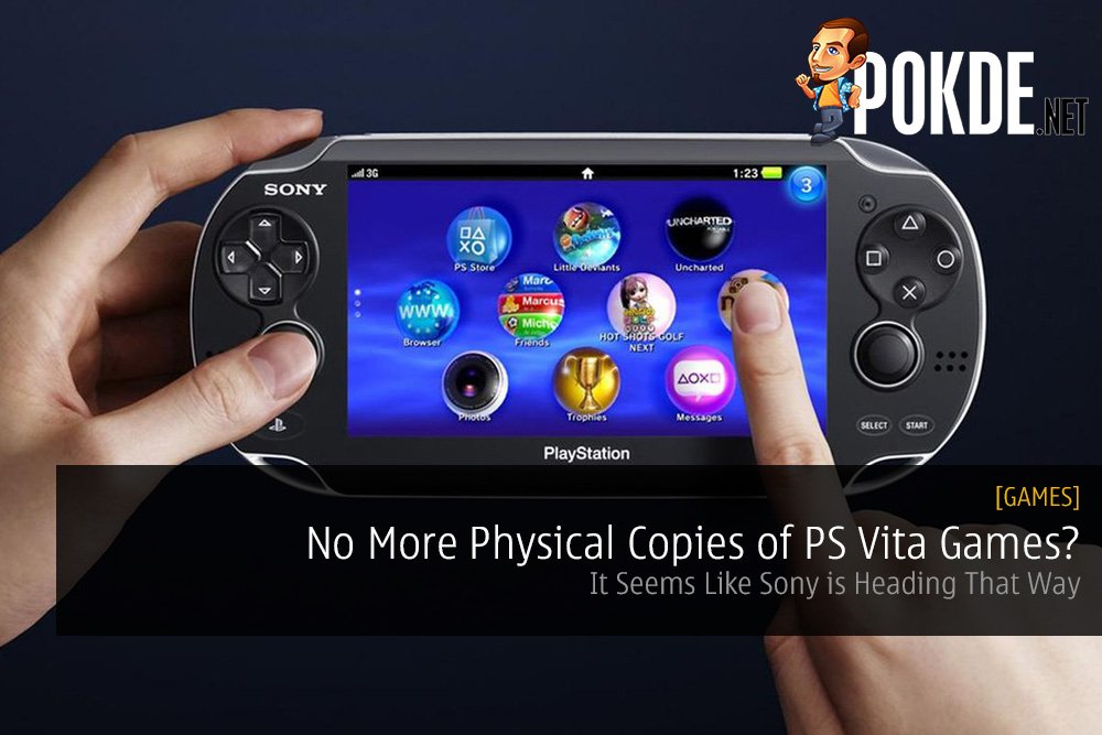 No More Physical Copies of PS Vita Games?