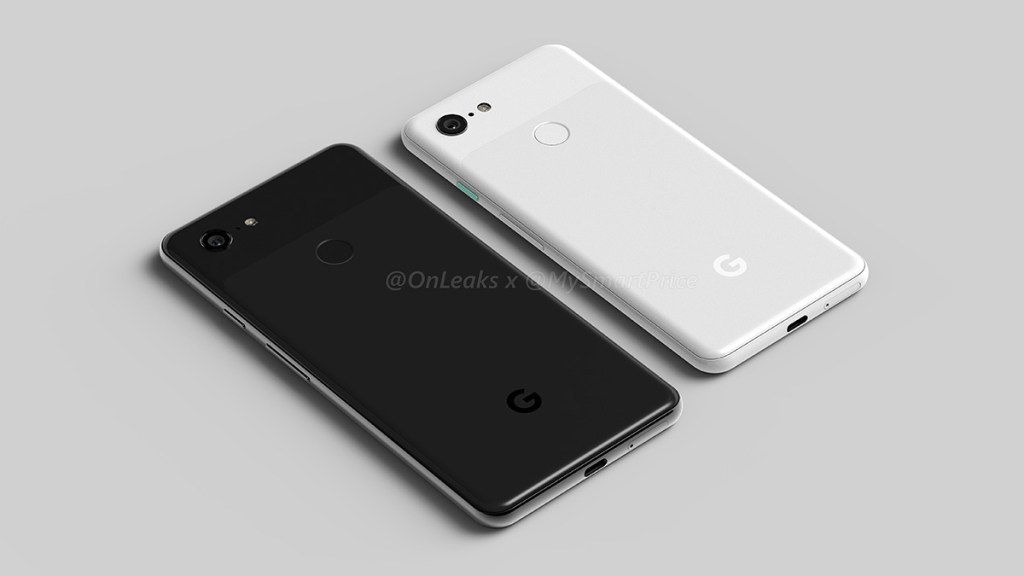 The Pixel 3XL is a top-notch device too — leaked design renders reveal entirety of the Pixel 3 devices 26