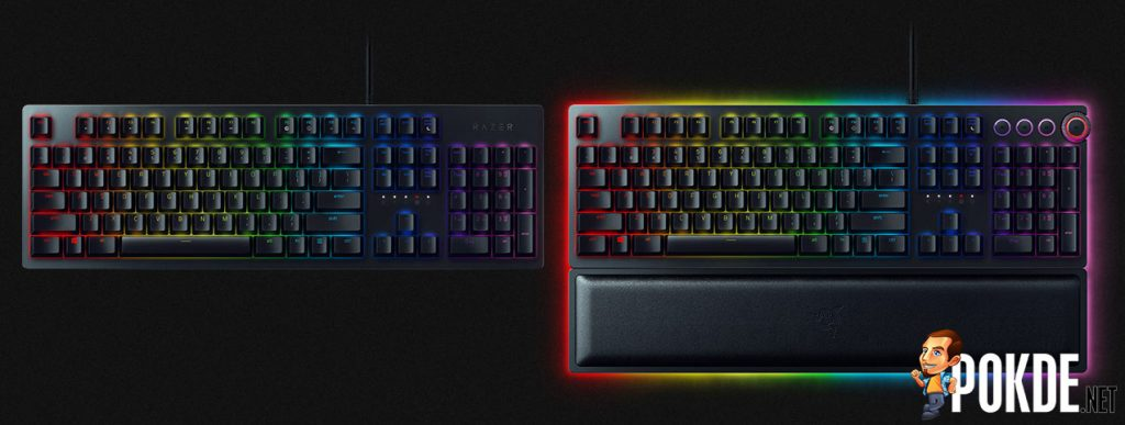 Razer's latest keyboard uses light for more than just RGBae — New Razer Opto-mechanical Switch for fast-as-light actuation 25