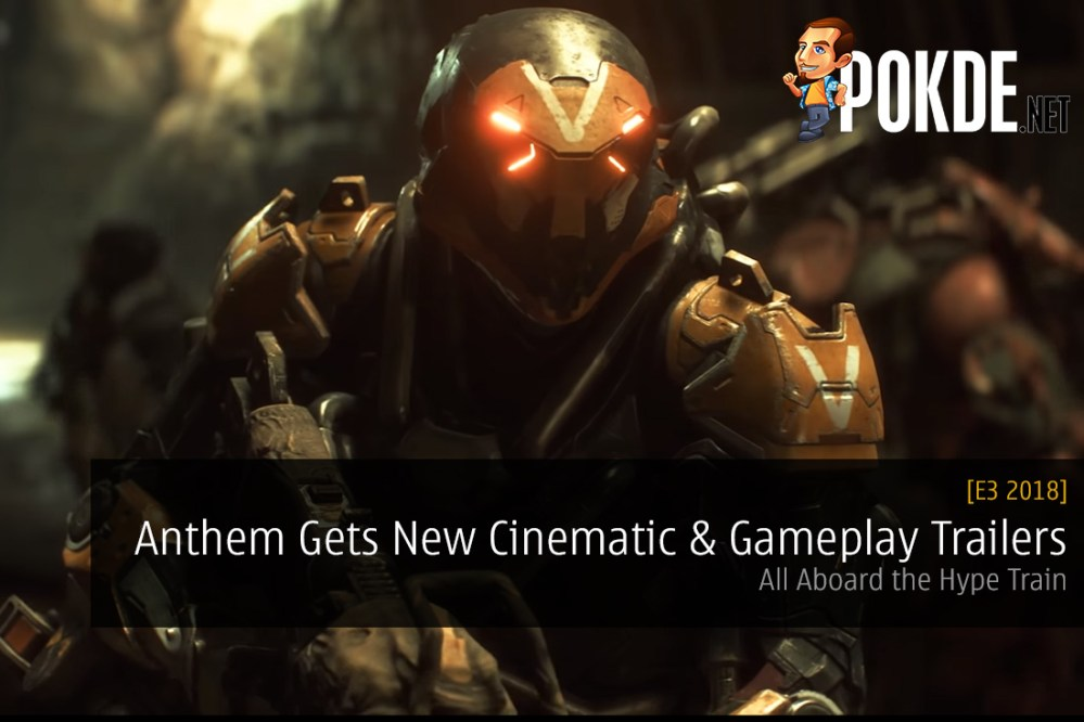 Anthem Gets New Cinematic and Gameplay Trailers