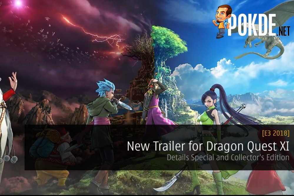 e3 2018 Dragon Quest XI Echoes of an Elusive Age Details Special and Collector's Edition