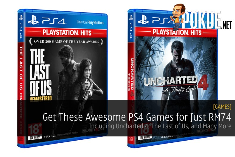Get These Awesome PS4 Games for Just RM74 - Including