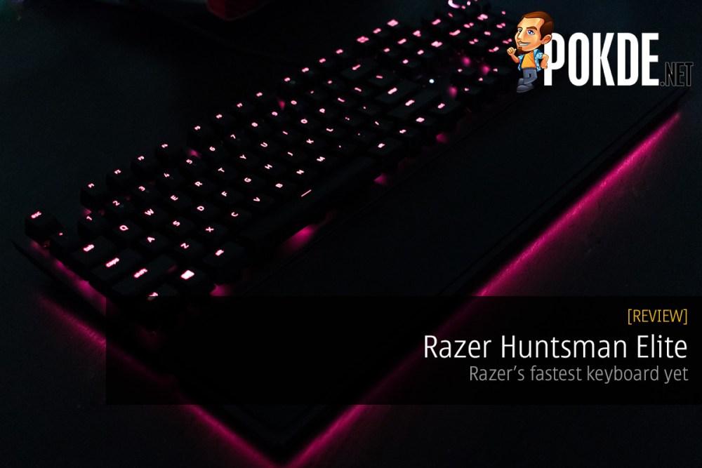 Razer Huntsman Elite Opto-Mechanical Gaming Keyboard review — Razer's fastest keyboard yet 22