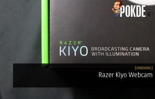 Unboxing the Razer Kiyo Webcam