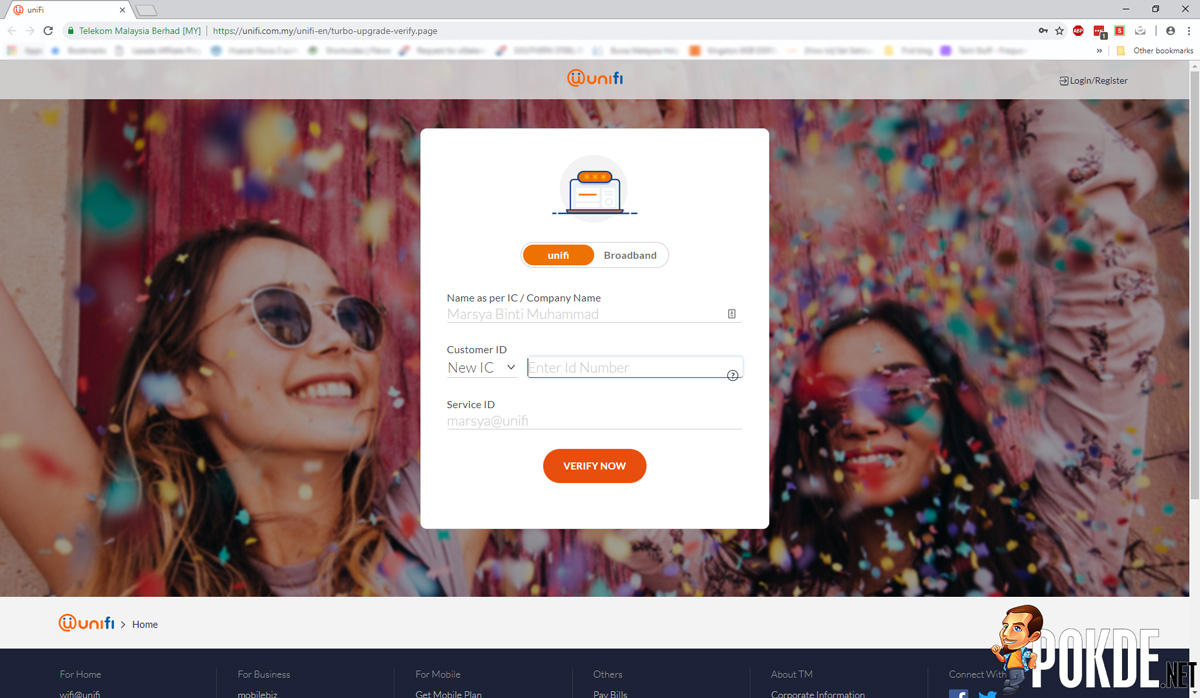 unifi Turbo verification page is now open — upgrades have