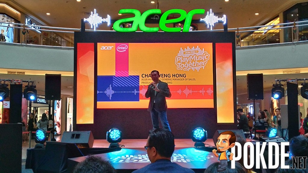 """Acer Day Kicked Off with """"Play Music Together"""" Celebration - Shows Off Acer Swift 7, Switch 7, and Predator Helios 300, and"""