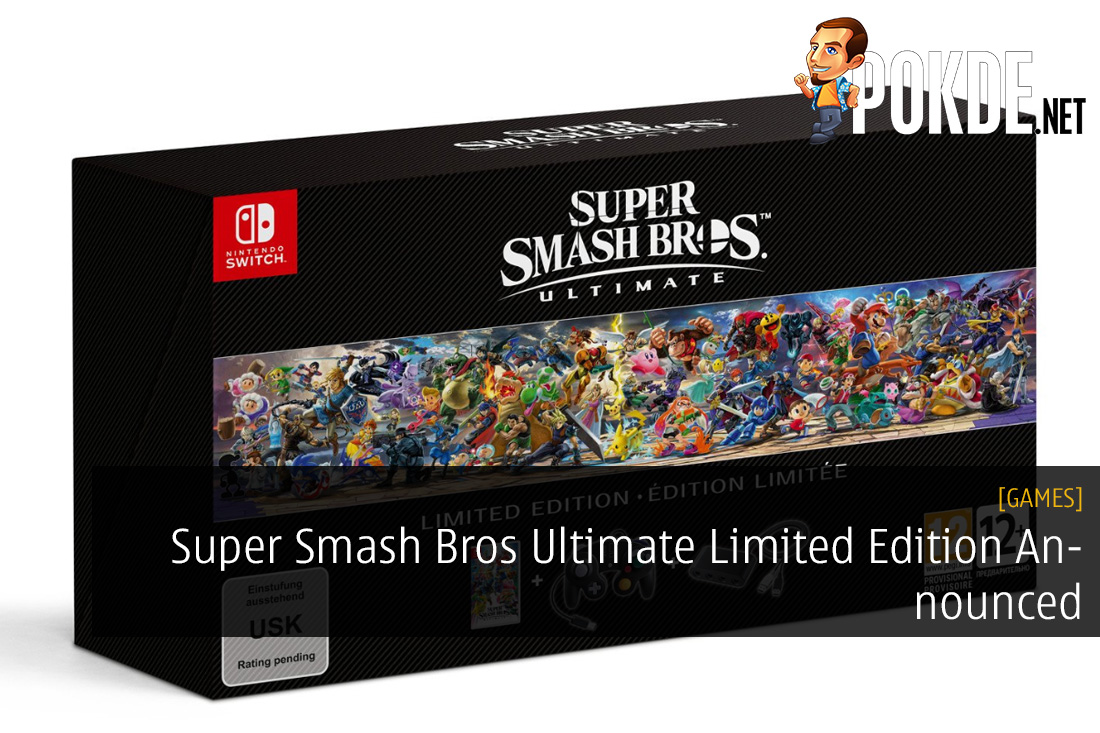 Cooperative Super Smash Bros Ultimate Special Edition Bundle box Only