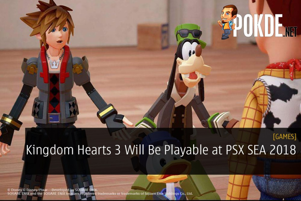 Kingdom Hearts 3 Will Be Playable at PSX SEA 2018