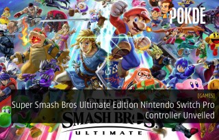 Super Smash Bros Ultimate Edition Nintendo Switch Pro Controller Unveiled